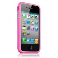 Бампер Apple MC669ZM/B для  iPhone 4/4S. Розовый
