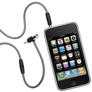 Griffin Handsfree Mic and AUX cable for iPhone