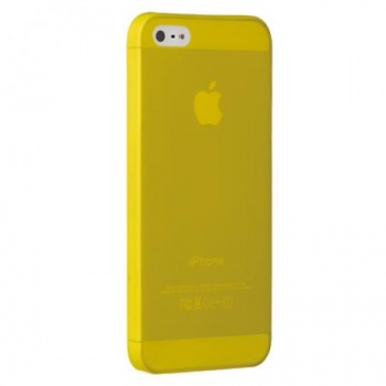 Ozaki O!coat 0.3 JELLY for iPhone 5.  Yellow