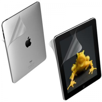 Wrapsol Original Protective Film for iPad2, front-back