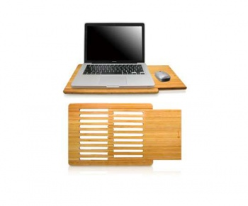 Macally LapDesk w. slide-out mousepad