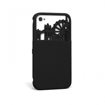 FreshFiber London City Case for iPhone 4(S) - Grey