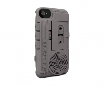 FreshFiber Dictaphone / iPhone 4 Graphite